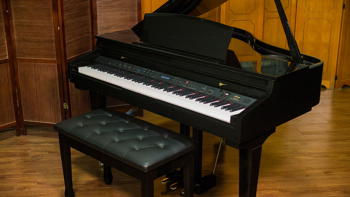 Artesia digital grand piano model ag 40 for What size is a grand piano