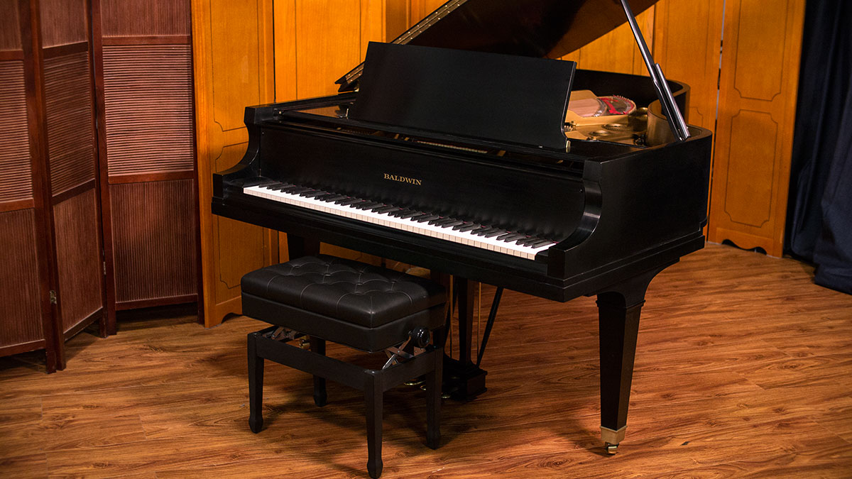 Baldwin semi concert grand piano for sale online piano store for What size is a grand piano