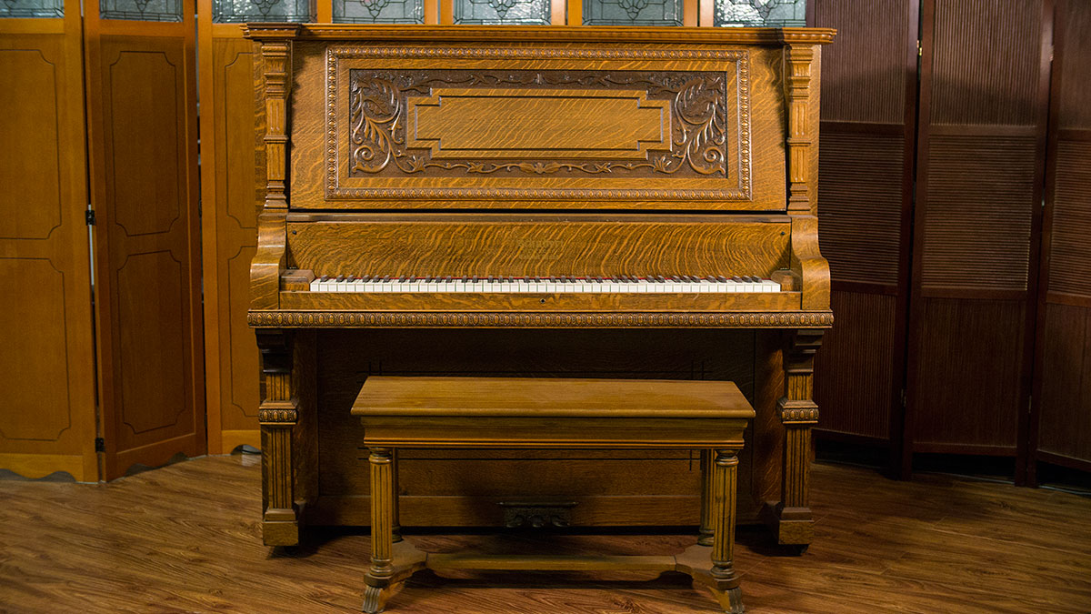 Schubert upright grand piano made in usa online piano for What size is a grand piano