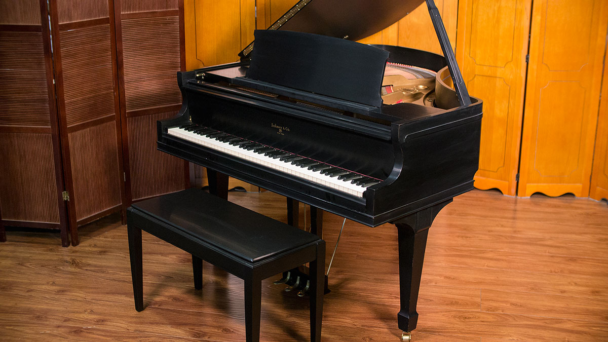 Sohmer baby grand piano made in usa for What size is a baby grand piano