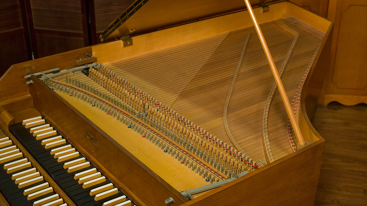 Witmayer 2 Manual Harpsichord for Sale - Living Pianos