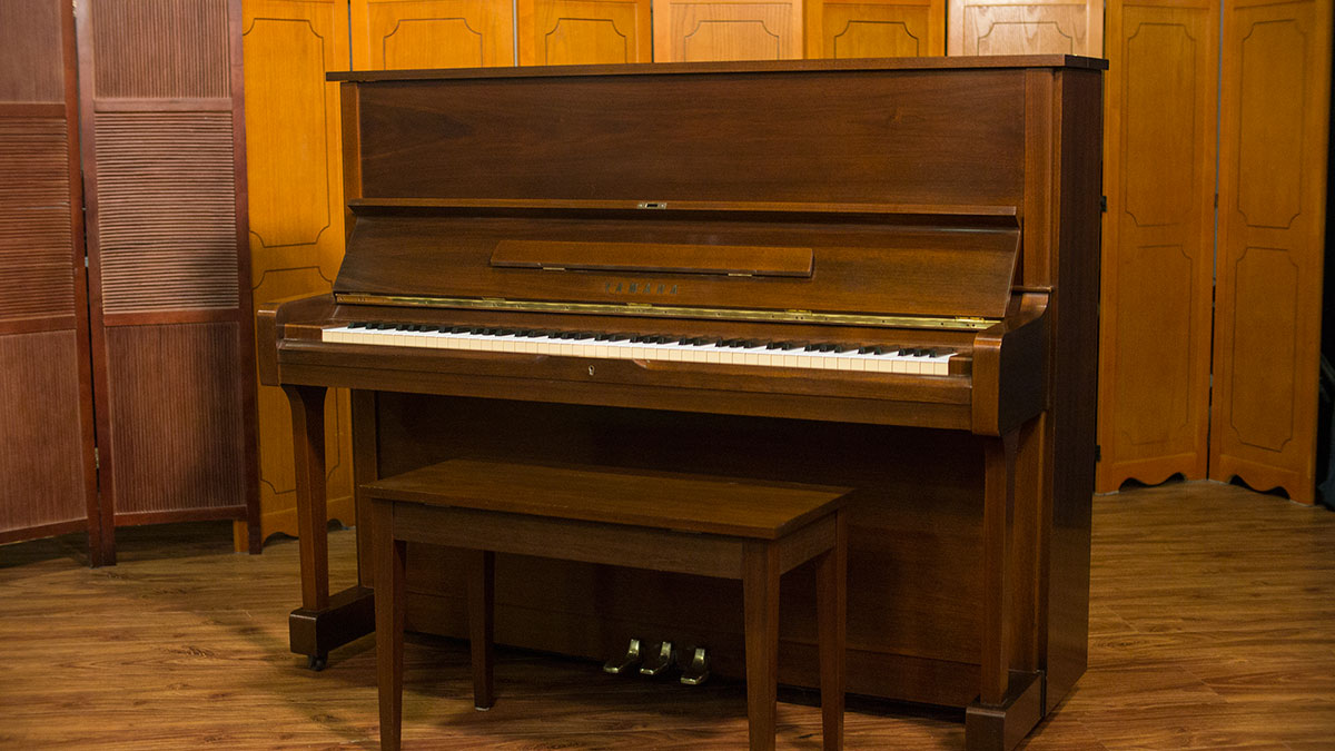 Yamaha u1 upright piano for sale mahogany satin finish for Used yamaha pianos for sale