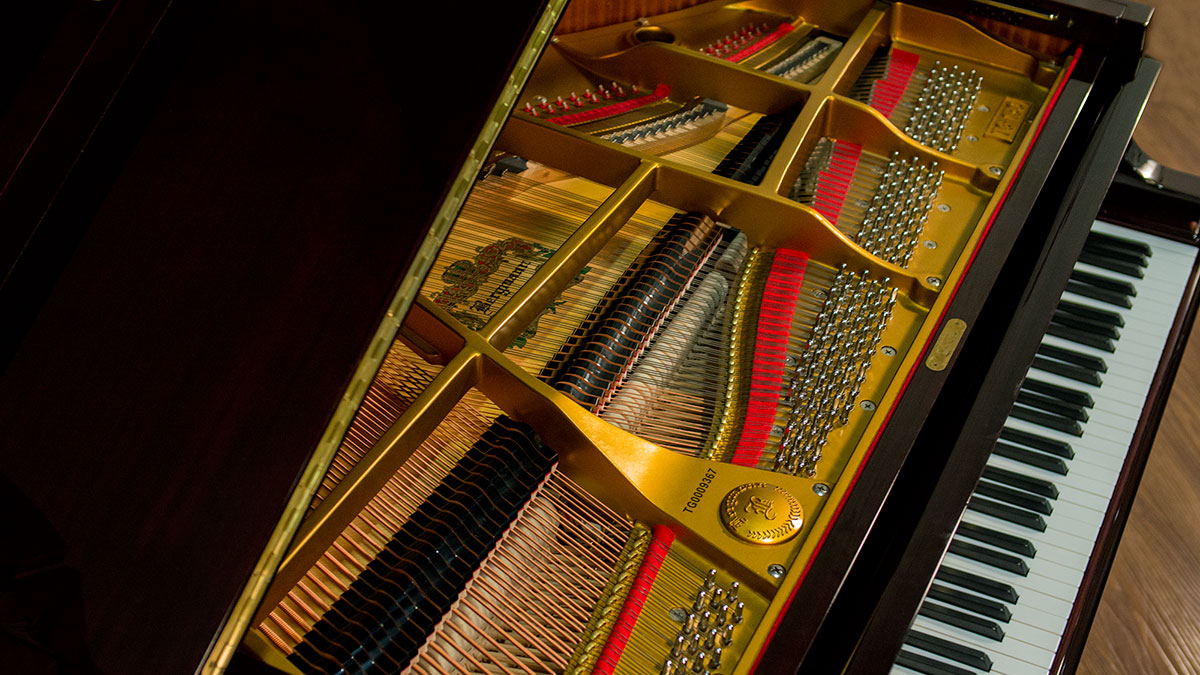 Bergmann Player Baby Grand For Sale Living Pianos