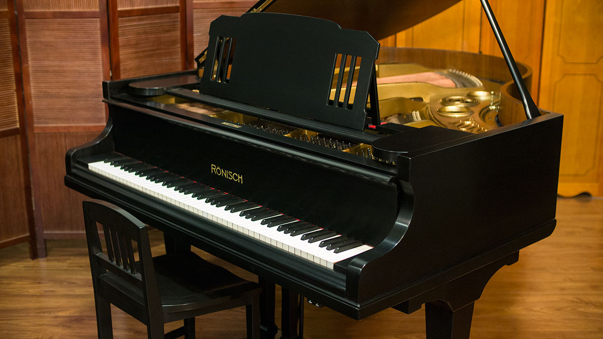 R nisch grand piano for sale made in germany online for Small grand piano size