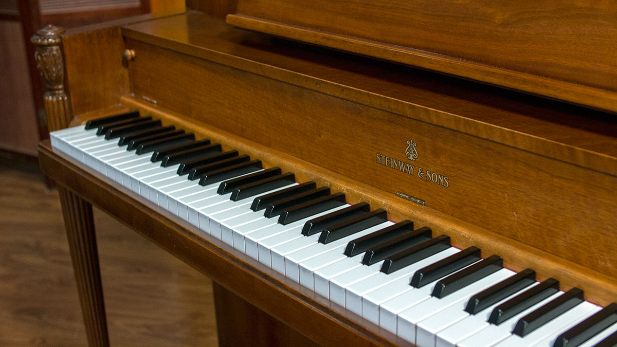 Art deco steinway upright piano for sale online piano for What are the dimensions of an upright piano