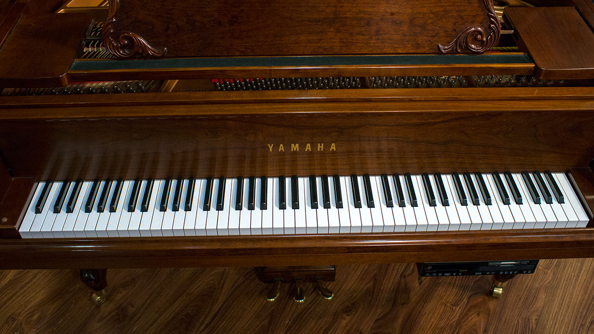 Yamaha Model Gh1 French Provincial Player Baby Grand Piano