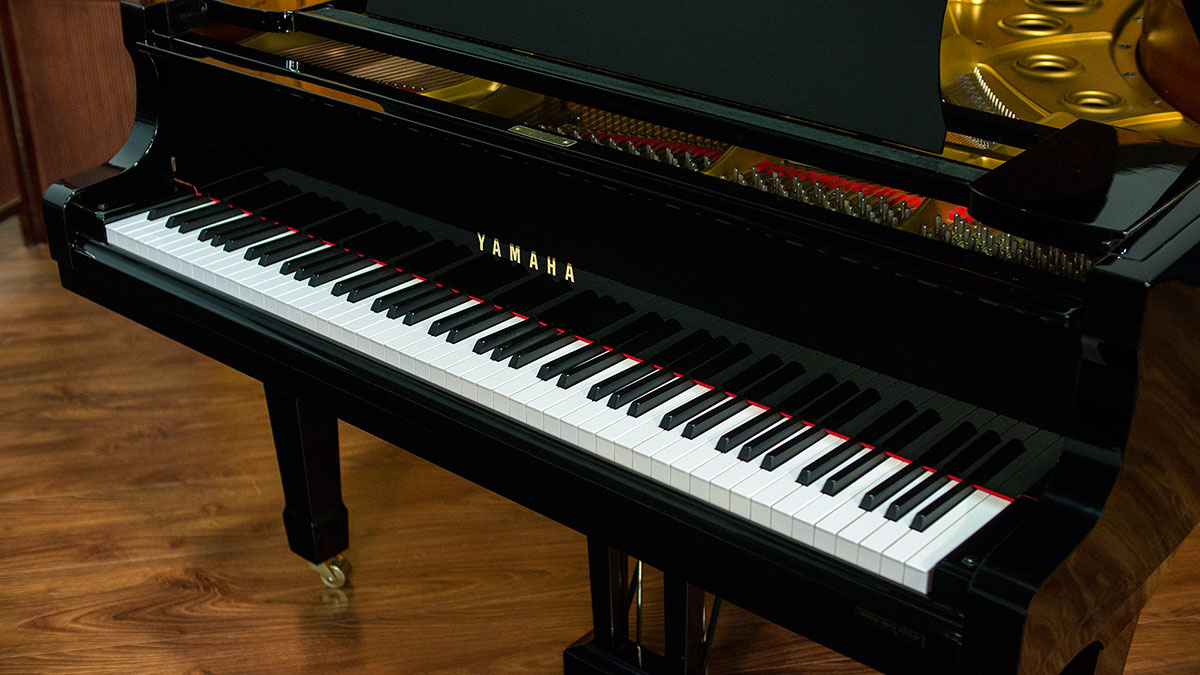 yamaha c5 grand piano for sale online piano store. Black Bedroom Furniture Sets. Home Design Ideas