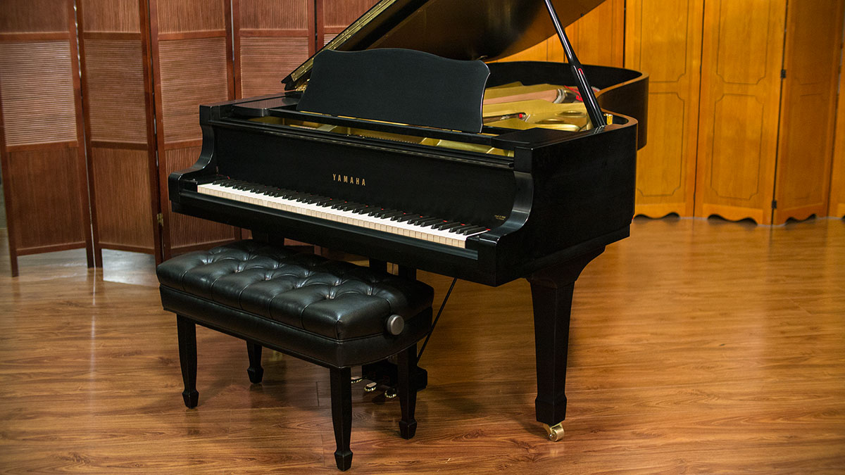 yamaha model c7 semi concert grand piano for sale living