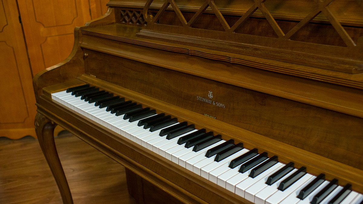Steinway Amp Sons Model 100 Console Piano Online Piano Store