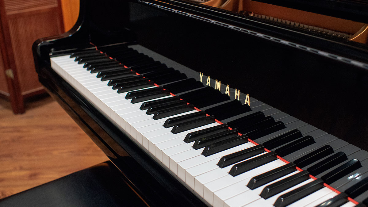 yamaha model gc1 baby grand piano for sale living pianos. Black Bedroom Furniture Sets. Home Design Ideas