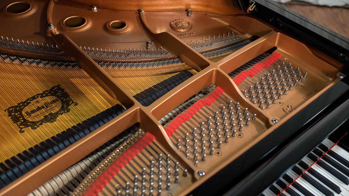 Yamaha c3 grand piano 5489436 for Yamaha c3 piano dimensions
