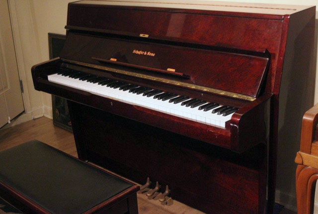 Schafer Amp Sons Console Piano 793217