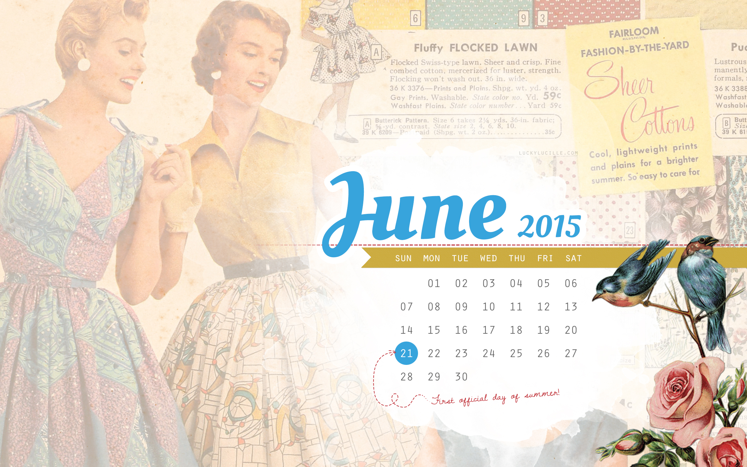 click here to download the full size june 2015 desktop wallpaper