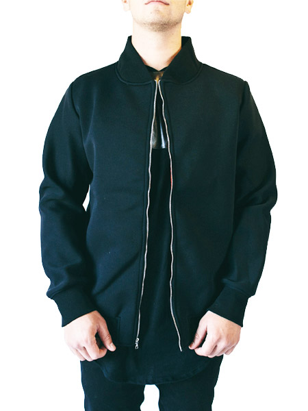 Grand Neoprene Bomber Jacket