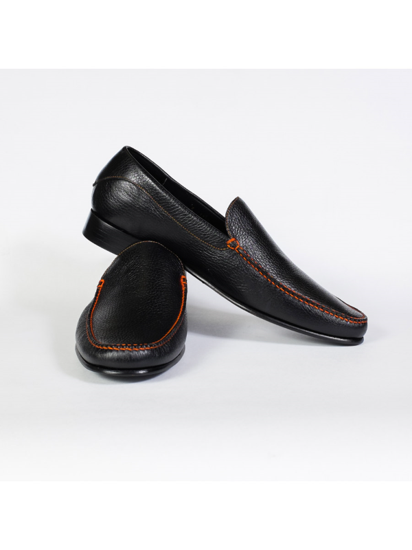 Pebble Calfskin Loafer