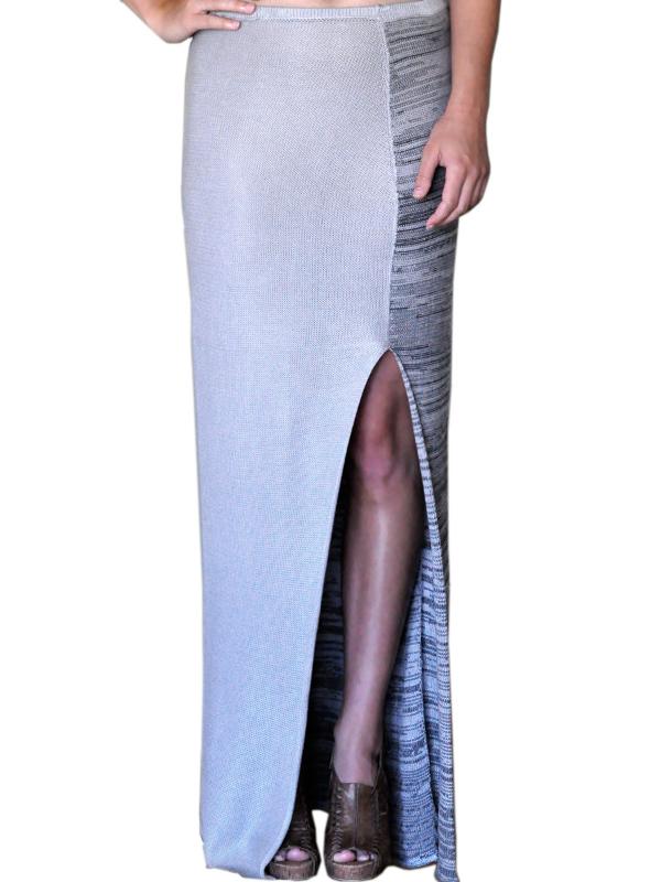 Silver Slate Skirt