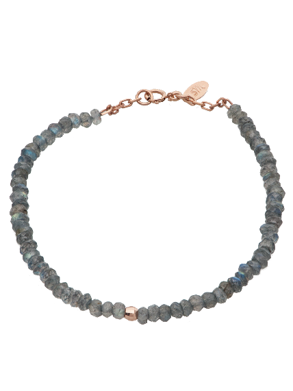 Gem Candy Bracelet in Labradorite