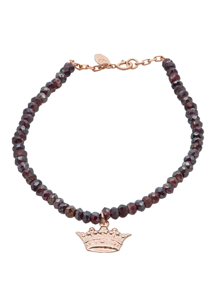 Gem Candy Bracelet in Mystic Garnet
