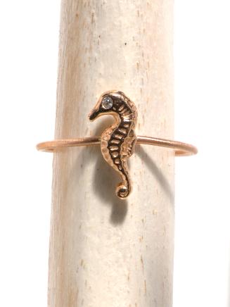 Seahorse Midi Ring