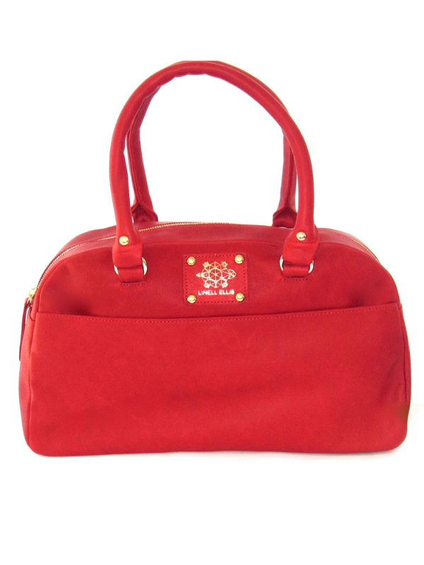 Candi Satchel - Ruby Red