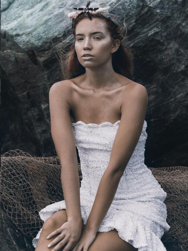 White Mini Mermaid
