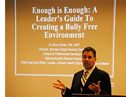 Chief Learning Officer Gino Chisari