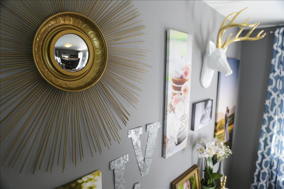 3 Tips for Personalizing a Creative Office Space // Nations Photo Lab & Wayfair