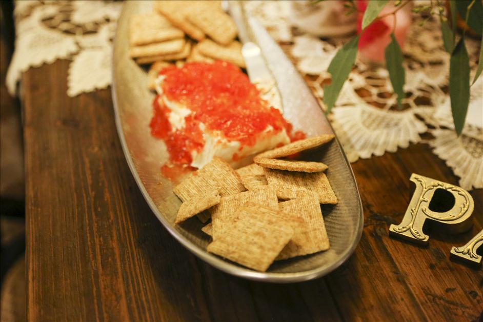 Appetizers for Nations Photo Lab Galentines Day Party