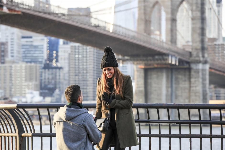 Brooklyn NY surprise proposal by Paparazzi Proposals