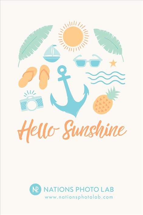 Hello Sunshine // Downloadable Phone Background