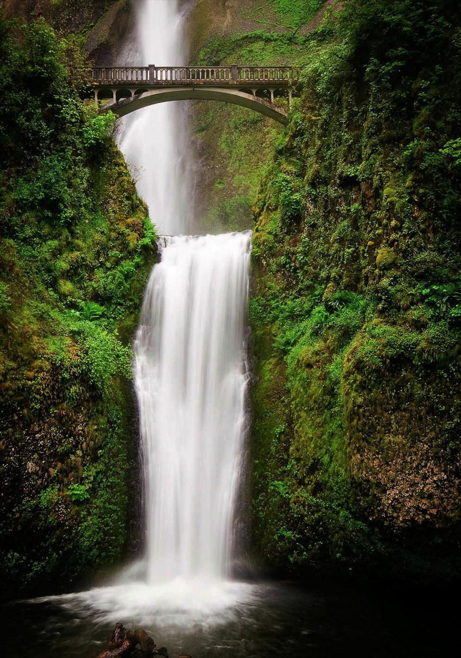 Multnomah Falls Oregon // Matt Kloskowski's Top 5 Landscapes to Photography // Nations Photo Lab
