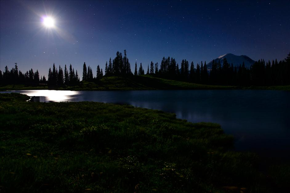 Mount Rainier at Night // Matt Kloskowski's Top 5 Landscapes to Photography // Nations Photo Lab