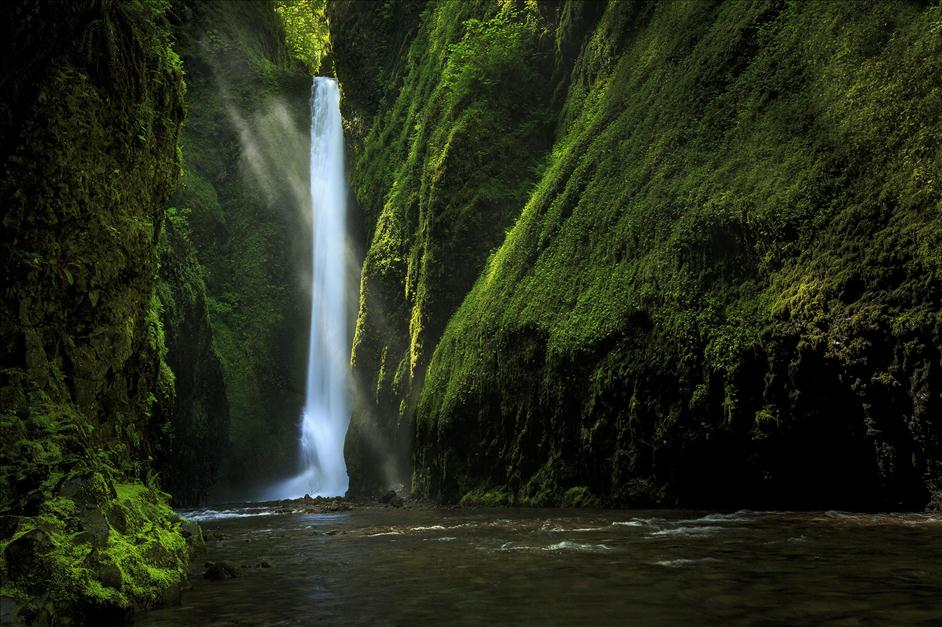 Oneonta Falls Oregon // Matt Kloskowski's Top 5 Landscapes to Photography // Nations Photo Lab