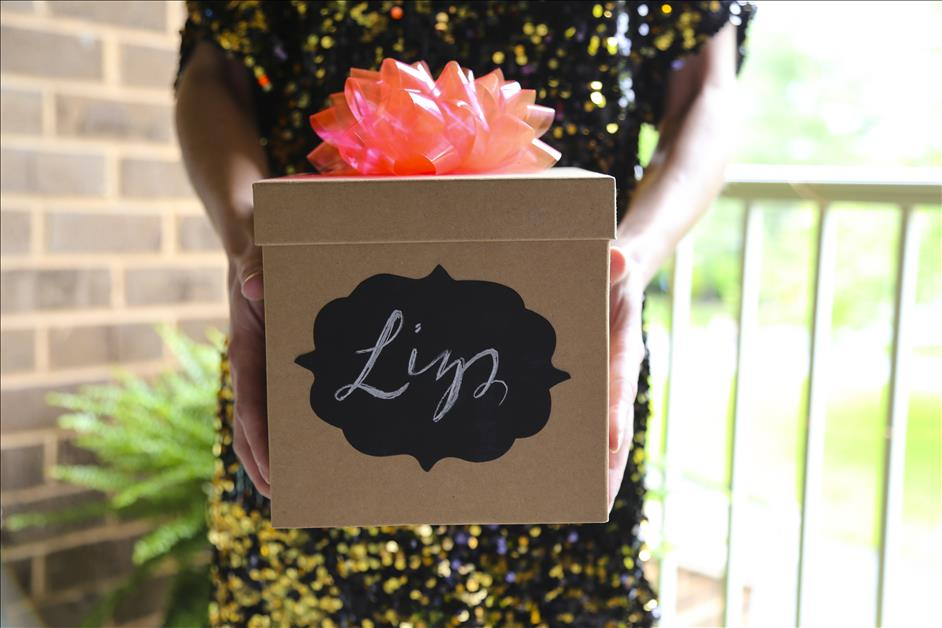 DIY Personalized Bridesmaid Gift Box