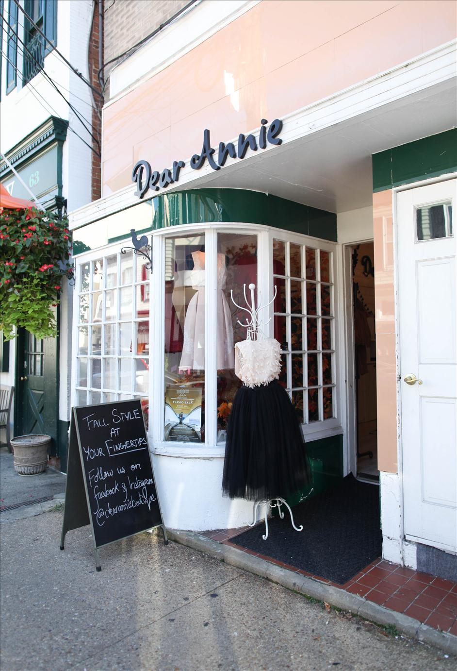 Dear Annie boutique in Annapolis