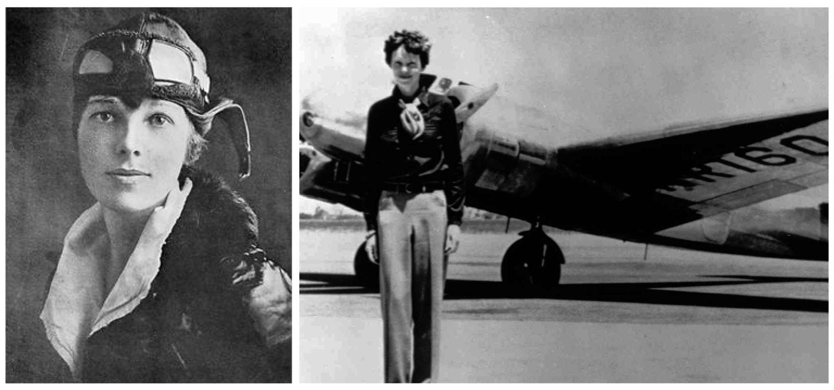 Original Amelia Earhart photos