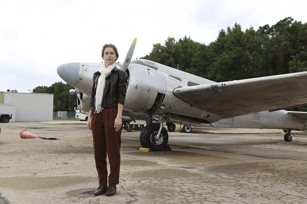 Amelia Earhart photo shoot replica raw file
