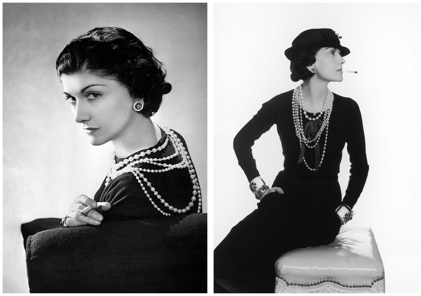 Original photos of Coco Chanel