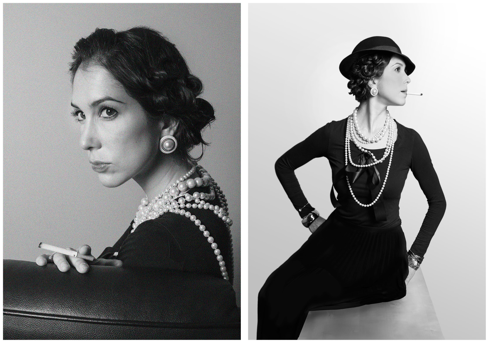 Photo replicas of Coco Chanel