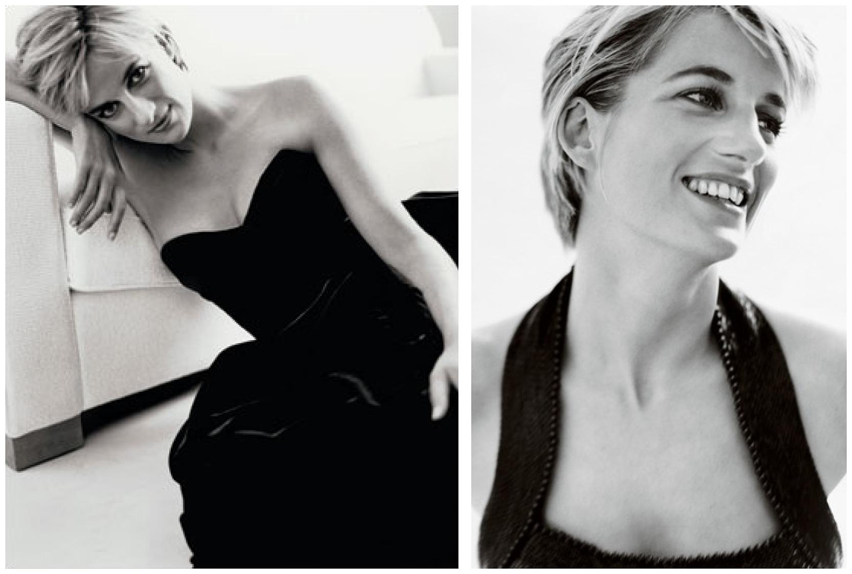 Original photos of Princess Diana