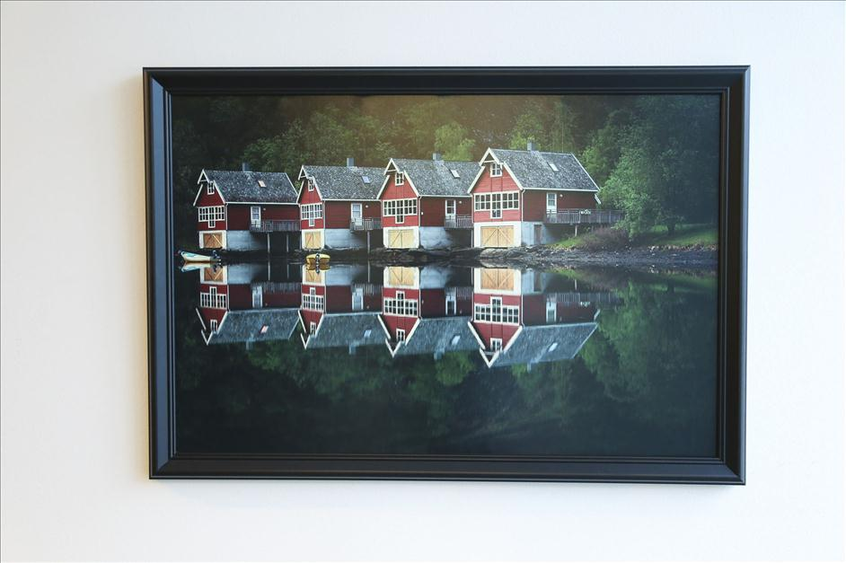 Matt Kloskowski framed landscape image