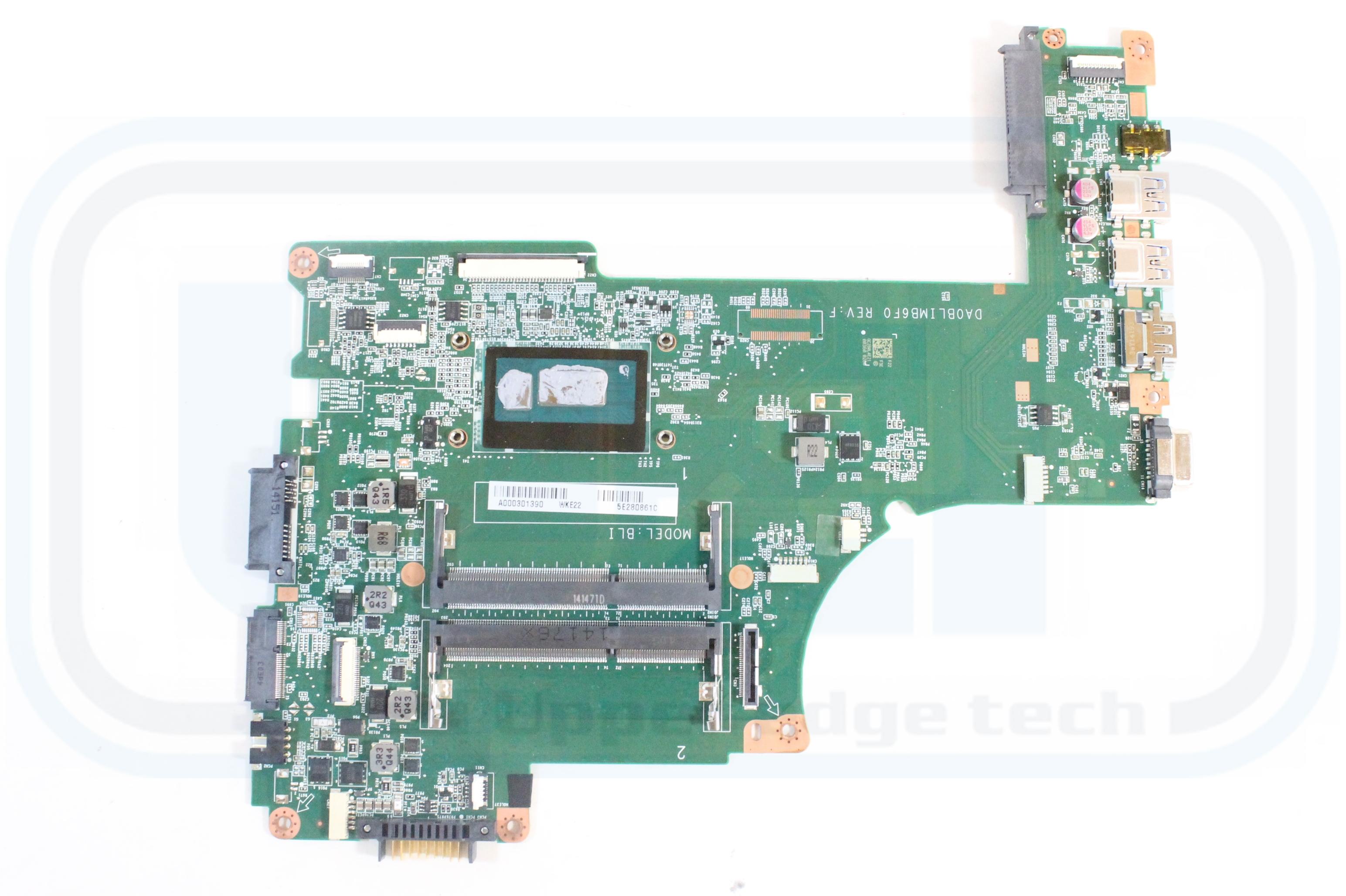 TOSHIBA L55t L55-B5267 Intel i3-4025U Laptop Motherboard A000301390 DA0BLIMB6F0