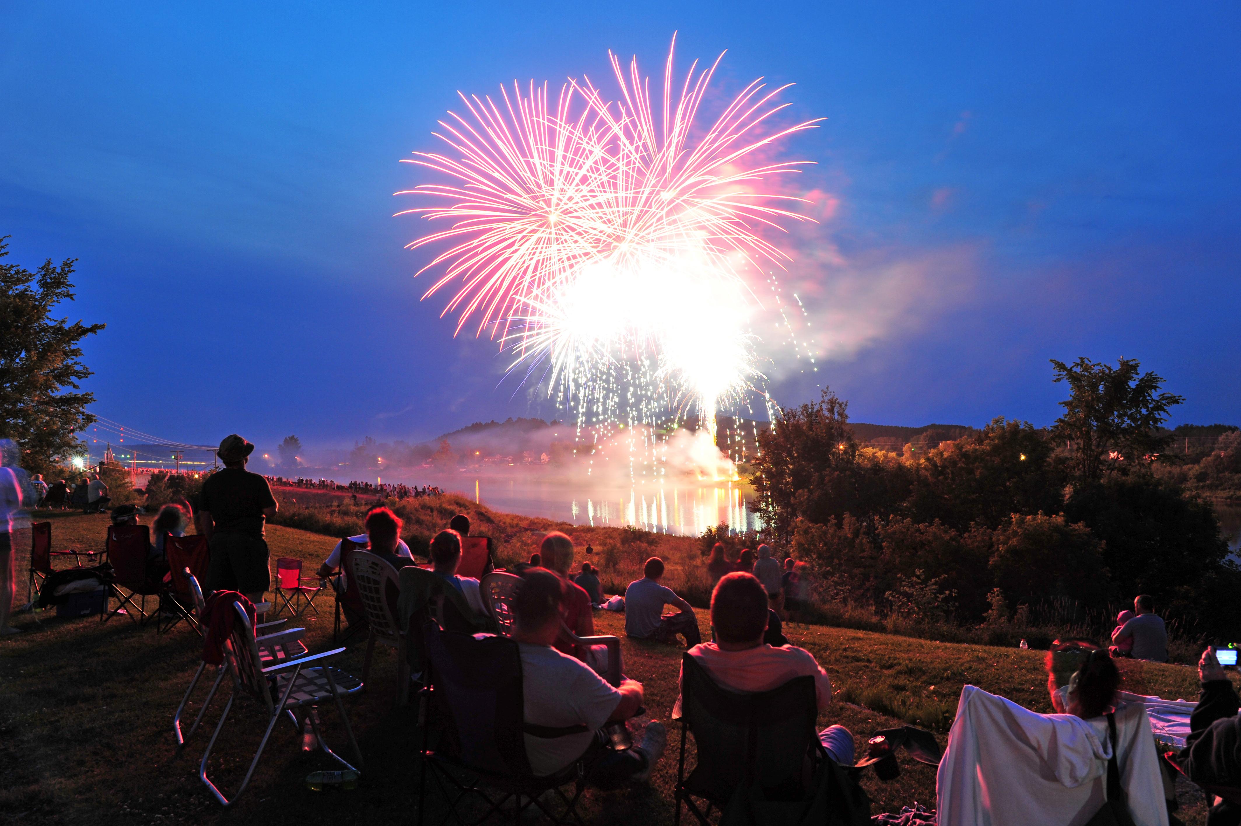 Potato Blossom Festival Fireworks
