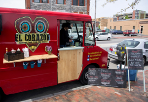 El Corazon food truck is a new eatery serving traditional Mexican food and beverages in Portland, Maine. Credit: Maine Office of Tourism.