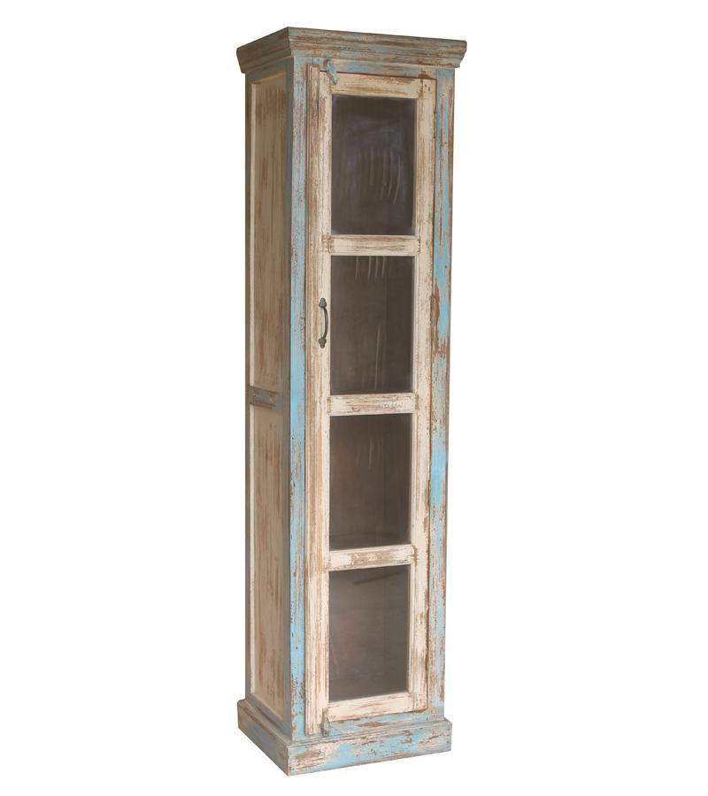 Solid Wood & Glass Display Cabinet