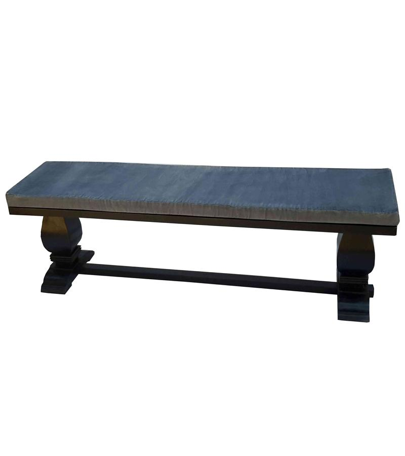 Solid Wood Cushion Top Bench