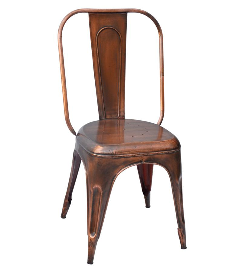 Solid Iron Copper Chair