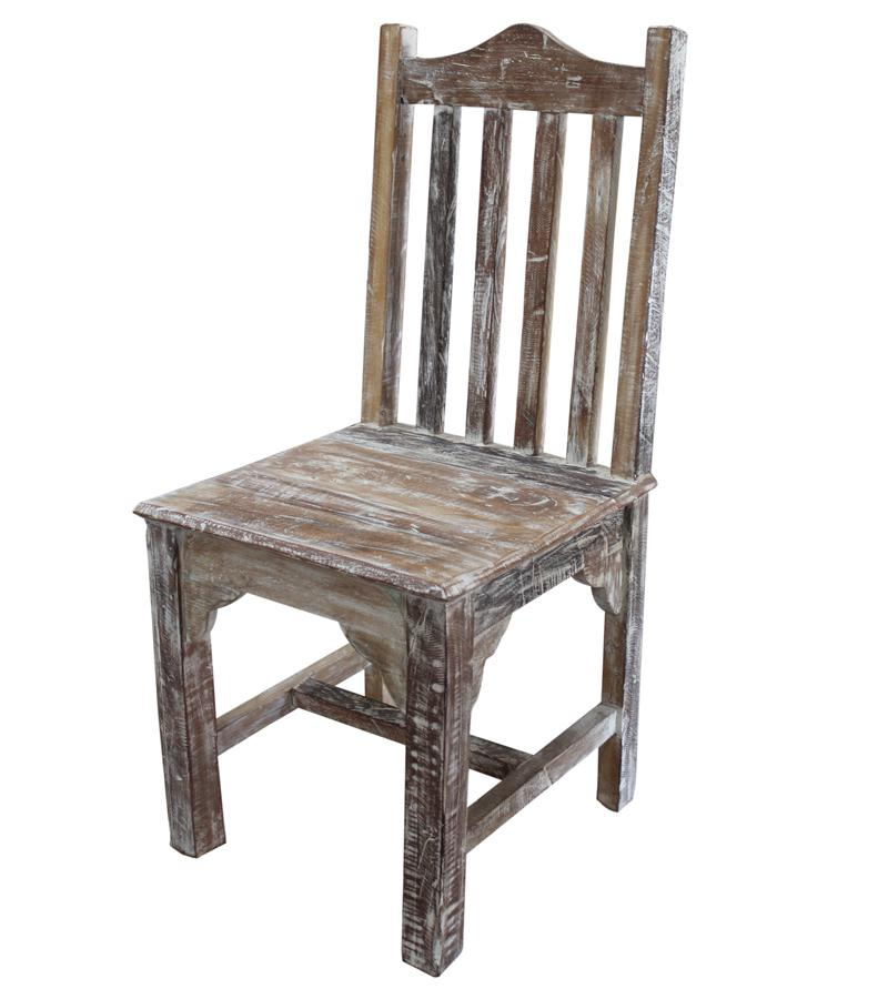 Multicolor Reclaimed Wood Chair