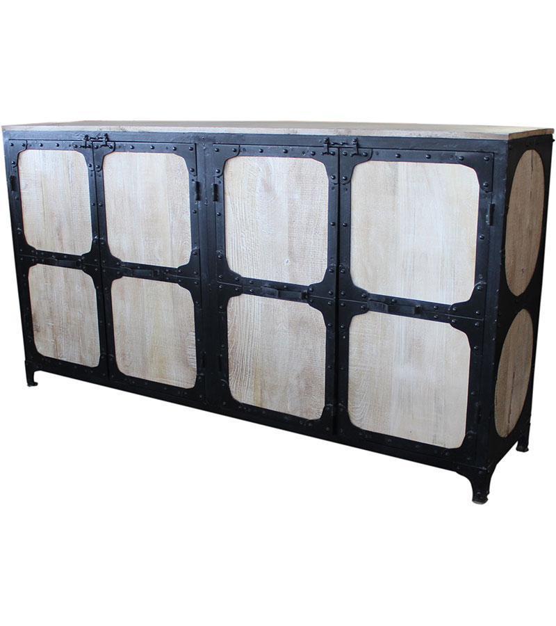 Iron Wooden Mango Sideboard
