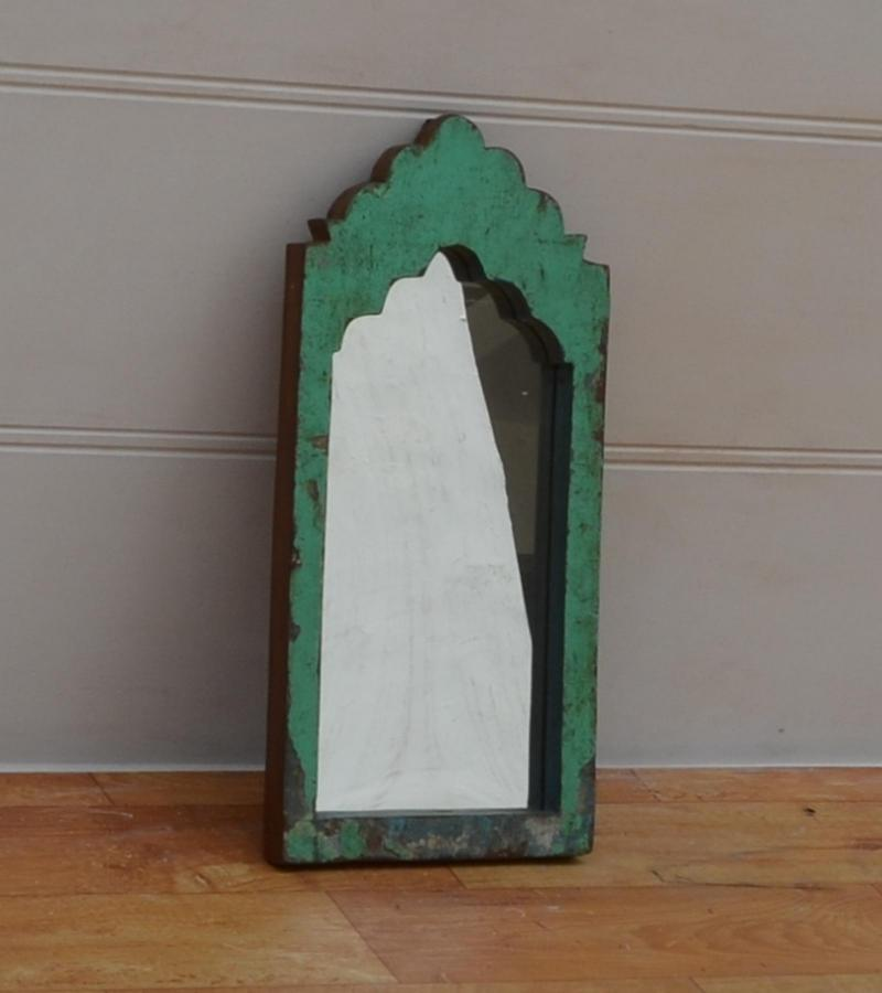 WOODEN SMALL MIRROR